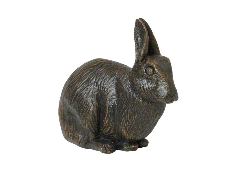 Beautiful figurine Rabbit urns for pet bunny ashes. Can be personalised.