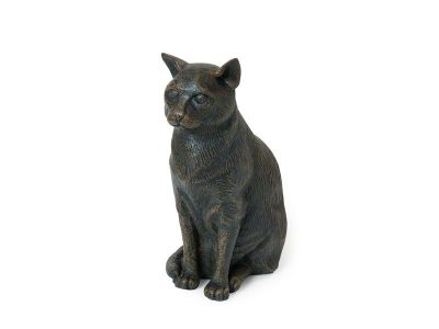 Sitting Cat Urn