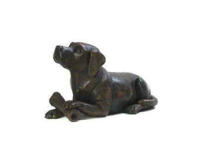Dog with Bone Urn