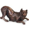 Beautiful figurine Border Collie keepsake urns for pet dog ashes. Can be personalised.