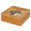 Beautiful bamboo ashes casket 600 cc, ashes urns for pets dog, cat, horse keepsake. photo memorial. Can be personalised