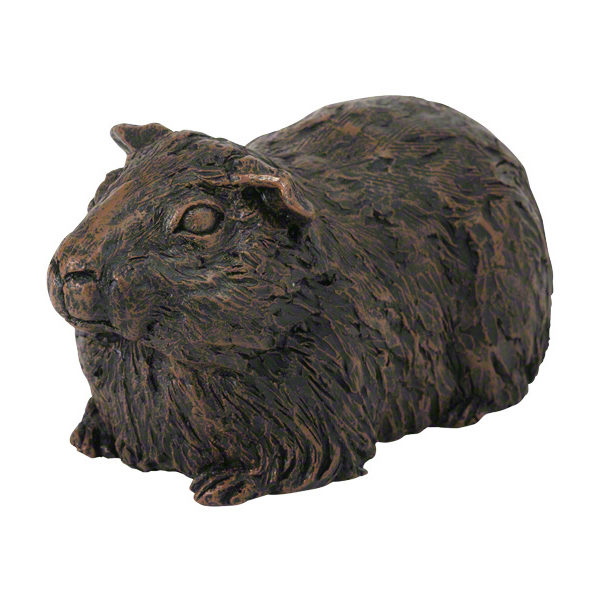 Beautiful figurine Guinea Pig urns for pet GP ashes. Can be personalised.