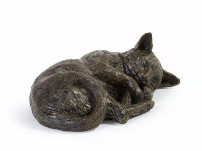 Resting Cat Urn