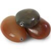 Natural polished stone keepsake. Colours may vary.