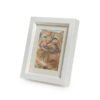 Beautiful handmade discreet white photo frame urns or keepsakes Mini 550-950 cc for pet dog, horse, cat ashes. Ashes casket concealed in picture frame.Can be personalised.