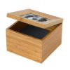 Our lovely Tribute Box ashes urn memento boxes are made from solid eco-friendly bamboo look lovely in any setting. The lid holds a photo and the body can be engraved with name, message or motifs. Beautiful bamboo ashes casket, ashes urns for pets dog, cat, horse keepsake. photo memorial.