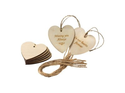 Heart Message Tag