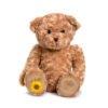 Lovely huggable Memory Bear keepsake urn for token ashes. Ribbon may be personalised.