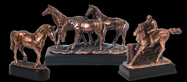 Horse & Pony Figurine Urns