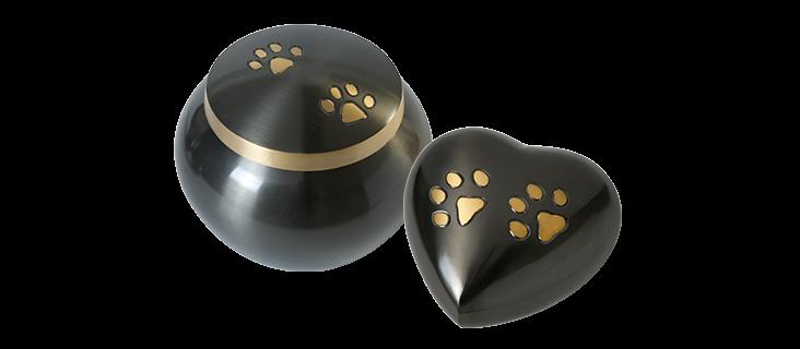 Pawprint Urns