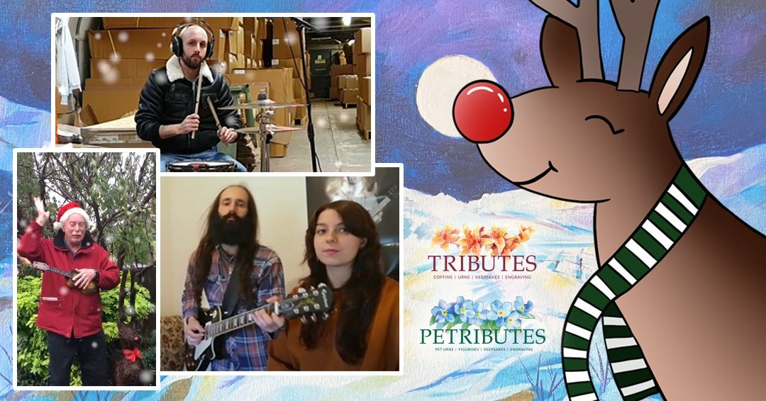 Happy Christmas from all at Petributes - and the talented Tributes Band