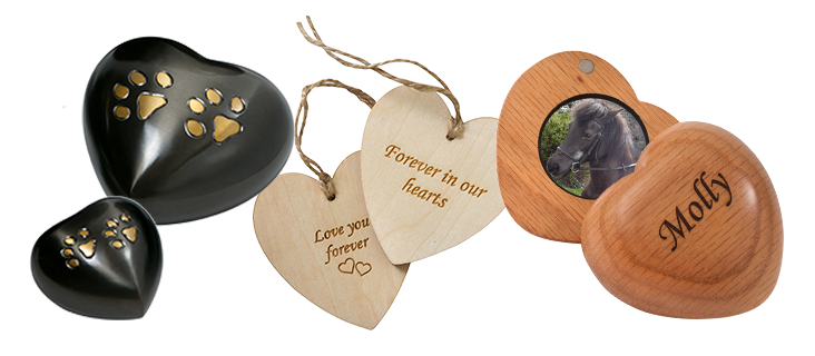 Heart Shaped Pet Keepsakes